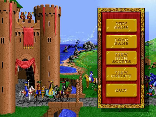 Оригинальный самый первый англоязычный релиз Heroes of Might and Magic
