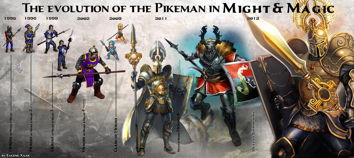 Пикимены во вселенной Might and Magic