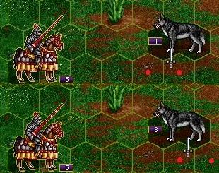 волки против кавалерии