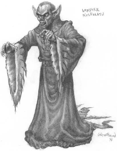 Вампир рисунок