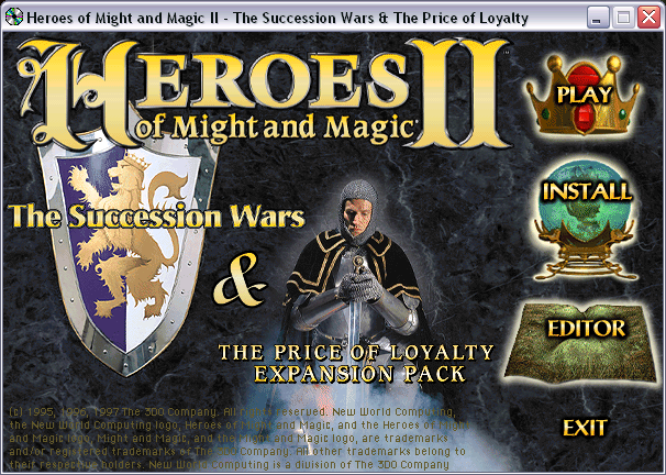 Heroes of Might and Magic Compendium CD2