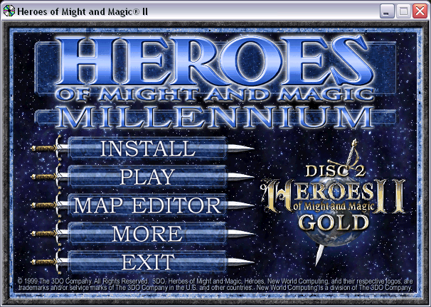 Heroes of Might and Magic Millenium Edition CD2
