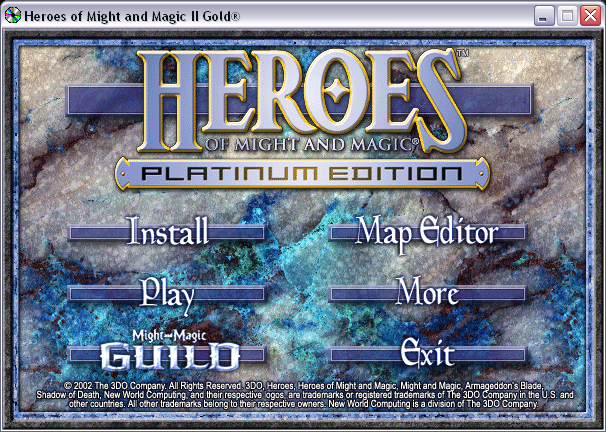 Heroes of Might and Magic Millenium Edition CD1