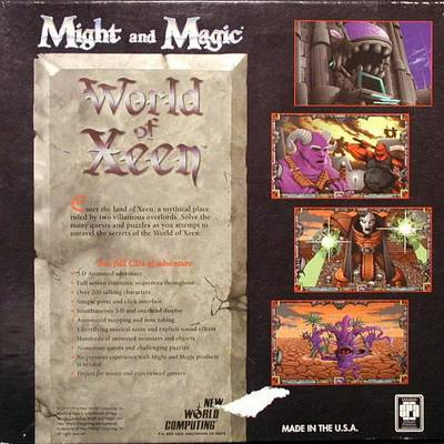 Might and Magic V: World of Xeen