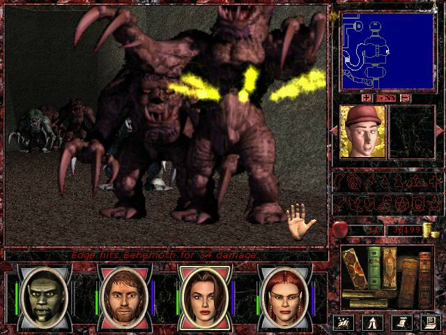 Might and Magic VII: For Blood and Honor скриншот