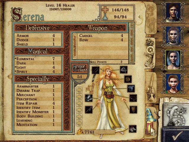 Might and Magic IX: Writ of Fate скриншот